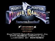 Mighty Morphin Power Rangers - The Movie on Snes