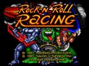 Rock 'N Roll Racing on Snes