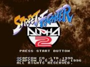 Street Fighter Alpha 2 – Super Nintendo (SNES)