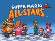 Super Mario All-Stars game