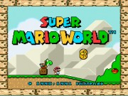 Super Mario World (E) game