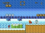Super Mario World - A Haunted Christmas game