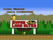 Super Pika Land Ultra - Chocolate Version game