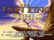The Lion King on Snes