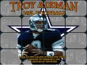 Troy Aikman NFL Football on Snes