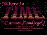 Where in Time is Carmen Sandiego on Snes