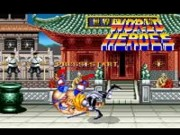 World Heroes on Snes