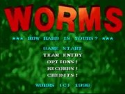 Worms on Snes