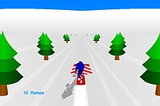 Sonic 3D Snowboard