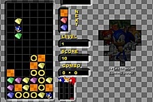 Sonic Heroes Puzzle