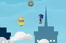 Sonic On Clouds